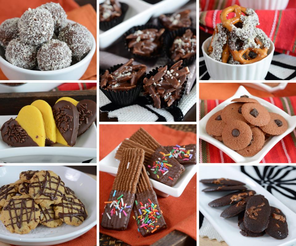 koleksi resipi biskut raya   buat guna coklat mudah sedap rasa Resepi Biskut Guna Tepung Kastard Enak dan Mudah